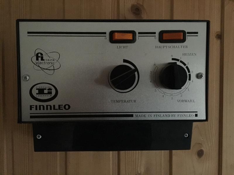 Finnleo sauna steuerung